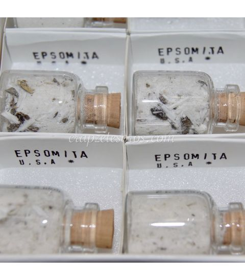 Fluorita octaedro de China en cajíta de colección