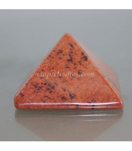 Pirámide de Obsidiana Caoba