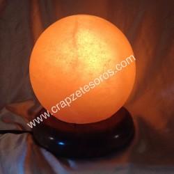 Sol naranja en lámpara de Silvina del Himalaya