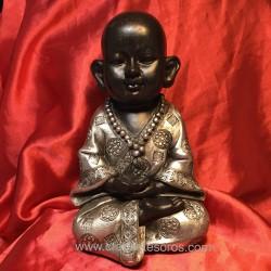 Buda niño de meditación en resina