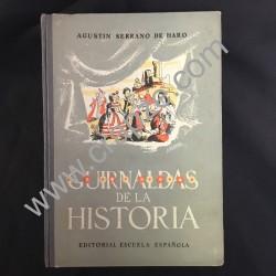 Guirnaldas de la historia. Obra de Agustín Serrano de Haro