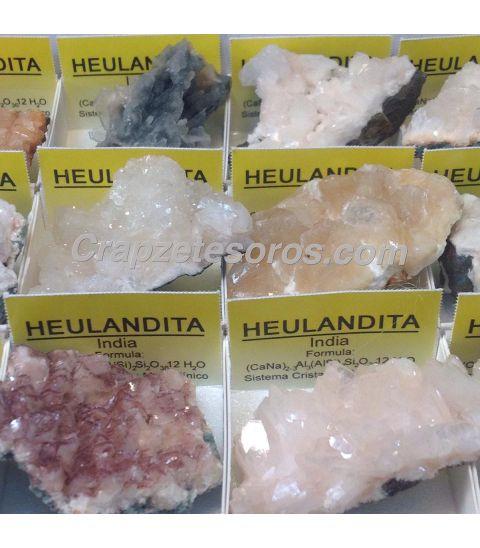 Heulandita en 4x4