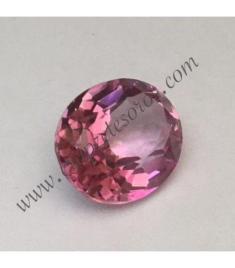 Cromático y brillante Topacio rosa de Afganistán. Una joya de 4,75 quilates